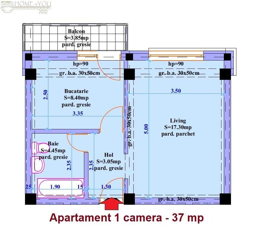 Apartament de vanzare, Iași (judet), CUG - Foto 2