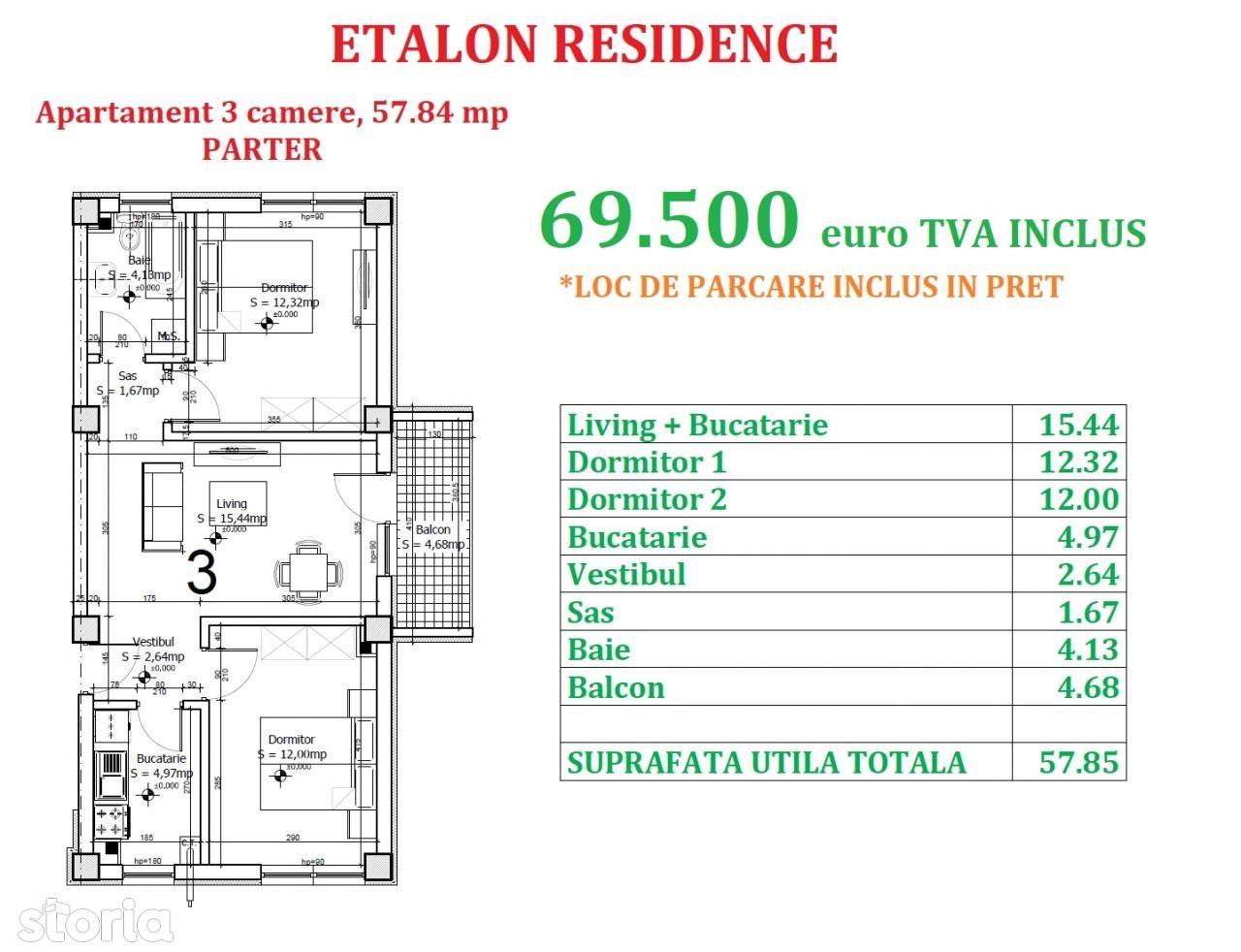 Apartament de vanzare, Ilfov (judet), Strada Maramureș - Foto 3