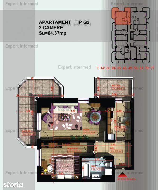 Apartament de vanzare, Iași (judet), Aleea Mihail Sadoveanu - Foto 3