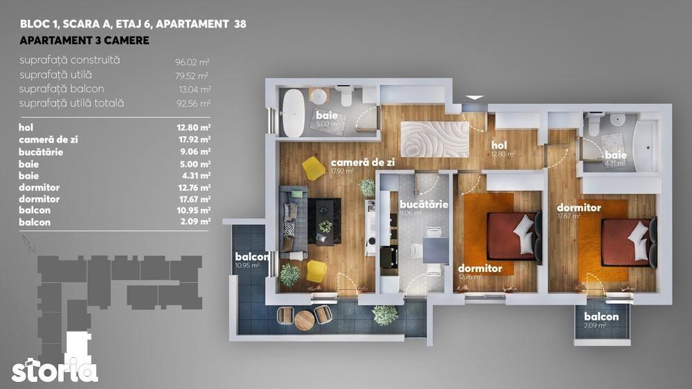 Apartament de vanzare, Bucuresti, Sectorul 4, Metalurgiei - Foto 10