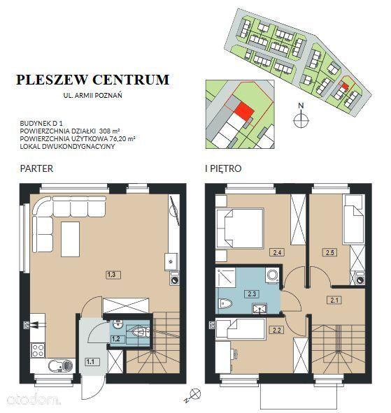 Mieszkanie na sprzedaż, Pleszew, pleszewski, wielkopolskie - Foto 1