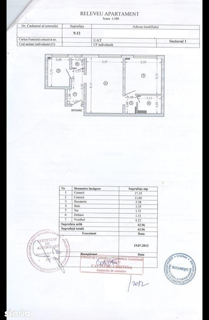 Apartament de vanzare, București (judet), Strada Rucăr - Foto 15