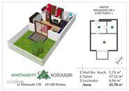 Mieszkanie na sprzedaż, Puławy, puławski, lubelskie - Foto 1007