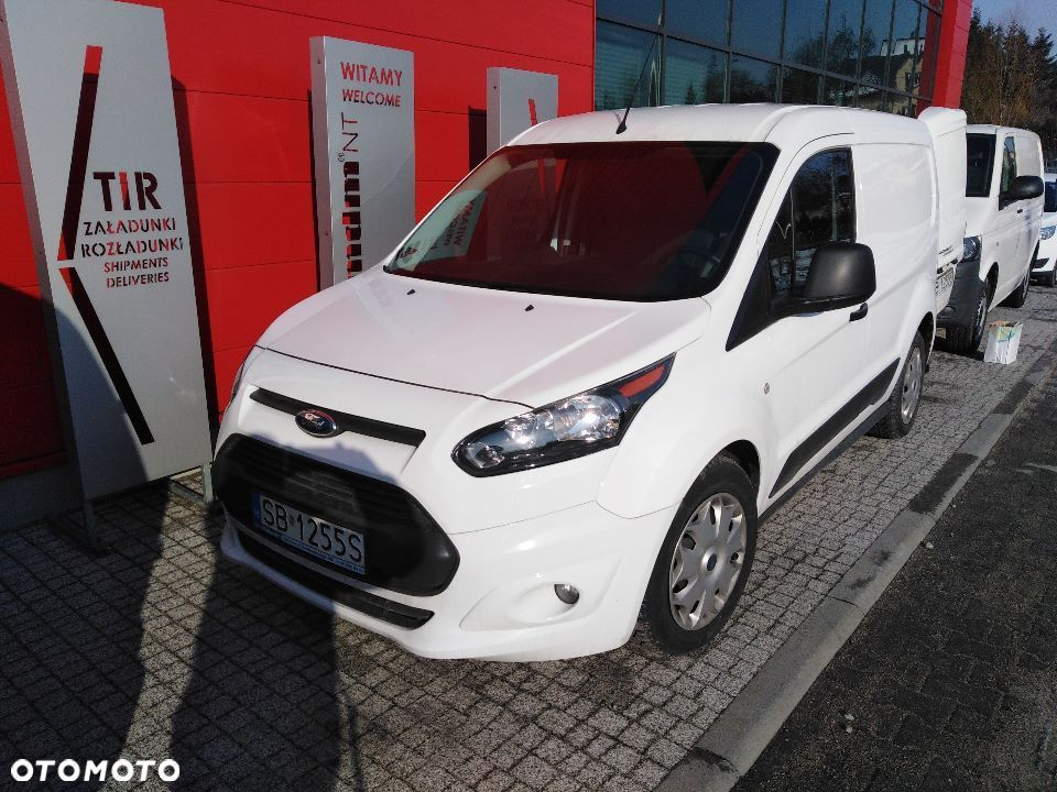 Ford Transit Connect  Ford Transit Connect II 1,5 benzyna 32 000 km Furgon blaszak - 1