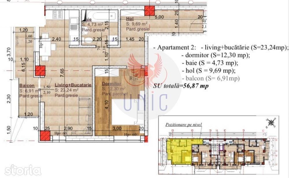 Apartament de vanzare, Craiova, Dolj, Calea Severinului - Foto 1