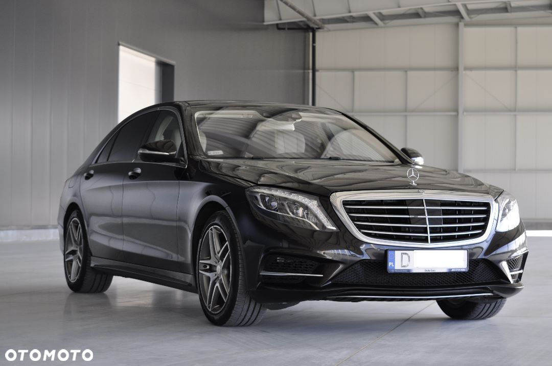 Mercedes-Benz Klasa S BlueTEC 4MATIC L, Brabus, Burmester Surround, Zadbany Full Wersja - 5