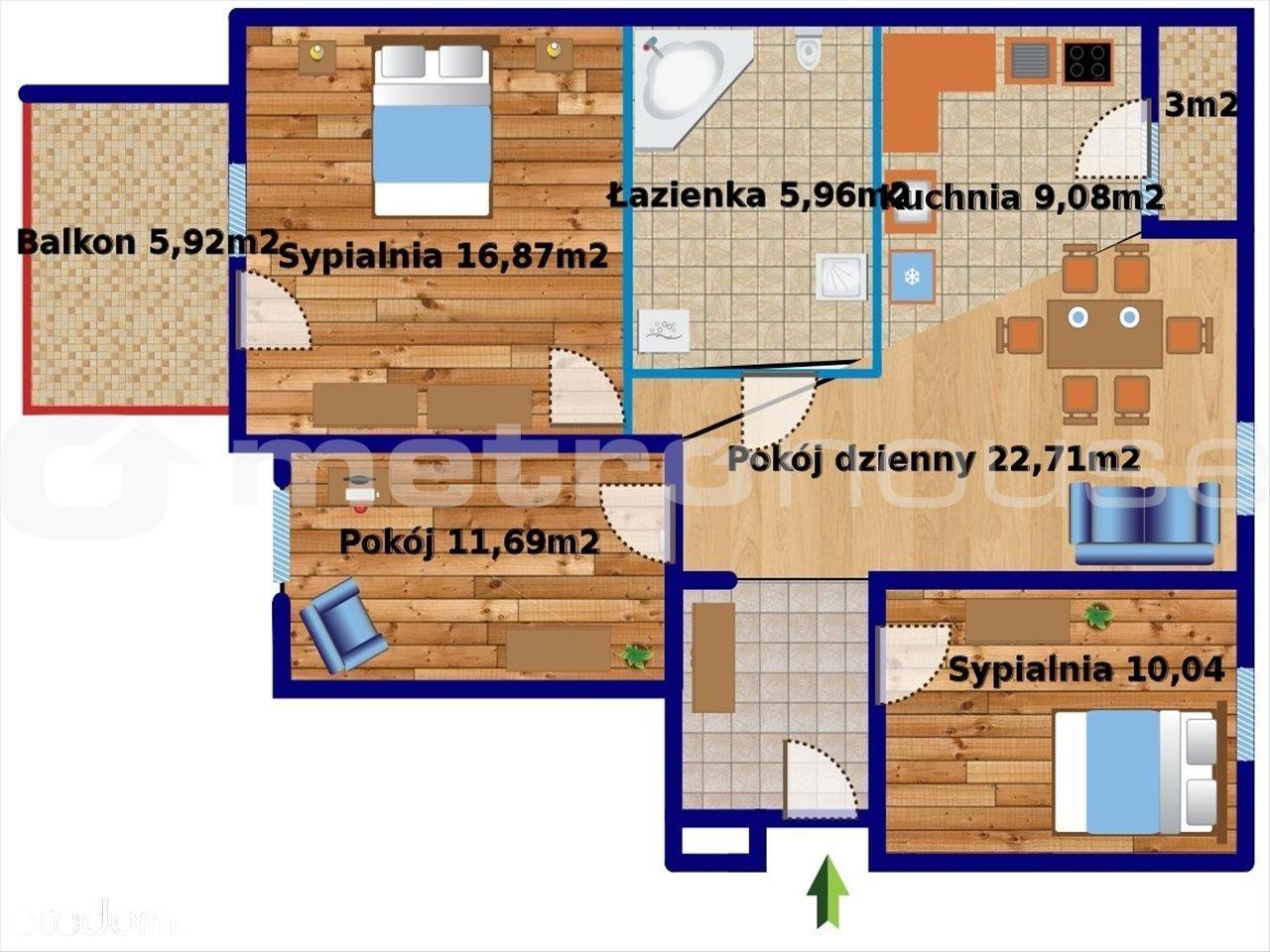 Mieszkanie na sprzedaż, Warszawa, Żerań - Foto 11