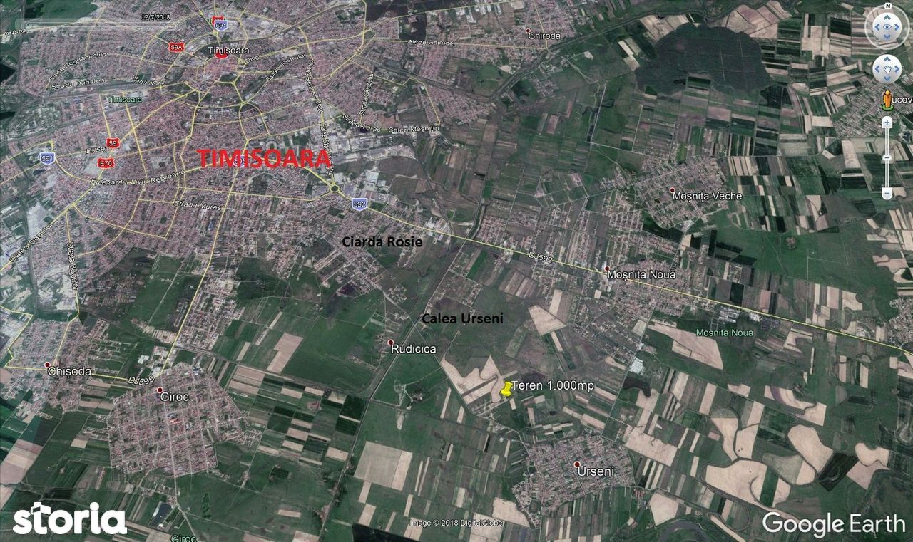 Teren de Vanzare, Timiș (judet), Strada Ogrinova - Foto 4
