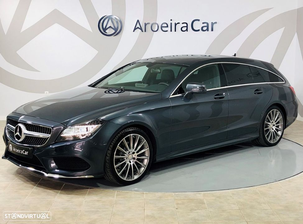 Mercedes-Benz CLS 220 9-G TRONIC Shooting Brake AMG LINE - 1