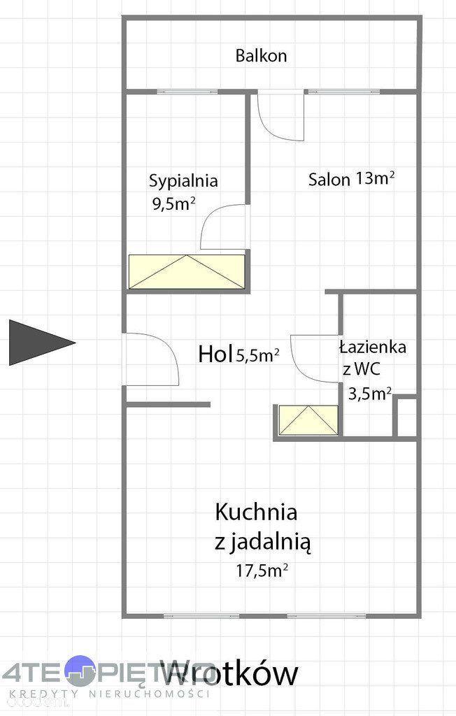 Mieszkanie na sprzedaż, Lublin, Wrotków - Foto 4