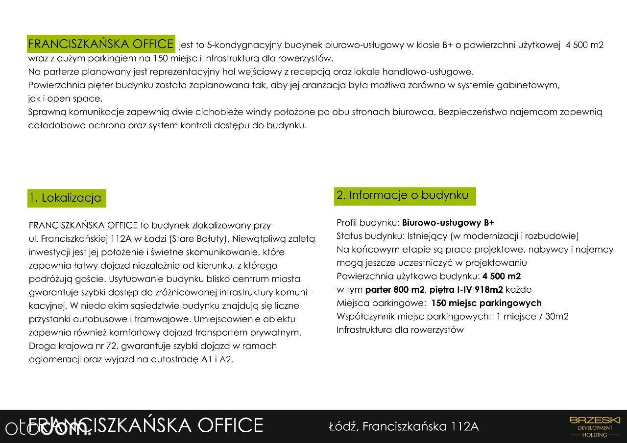 Inwestycja deweloperska, Łódź, Bałuty - Foto 1