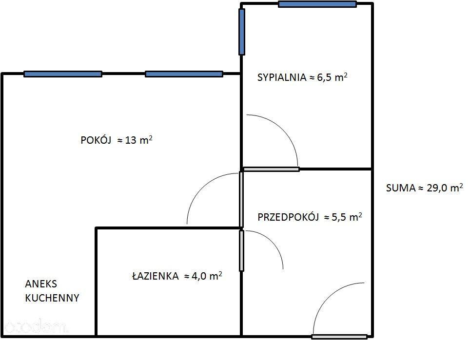 Mieszkanie na wynajem, Brzeg, brzeski, opolskie - Foto 1