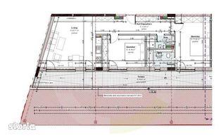 3 camere, 77.59 mp, etaj retras, zona strazii Constantin Brancusi