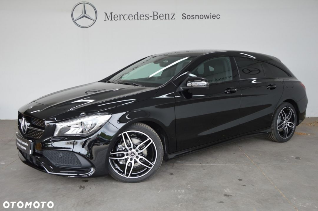 Mercedes-Benz CLA 1.6 156KM Shooting Brake, Pakiet AMG - 1