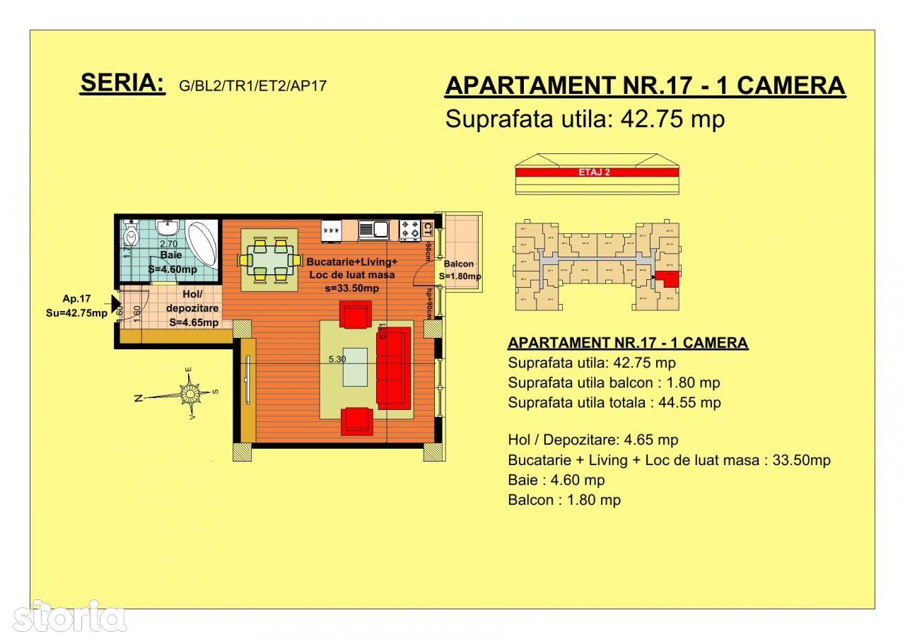 Apartament de vanzare, Brasov, Tractorul - Foto 1