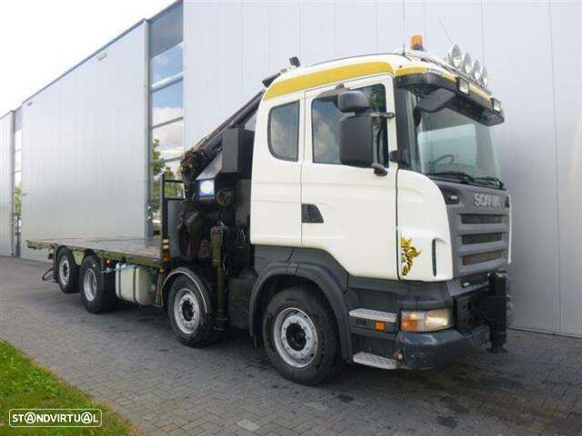 Scania R480 8x2 Hmf Odin O K5 With Jib Euro 4 - 9
