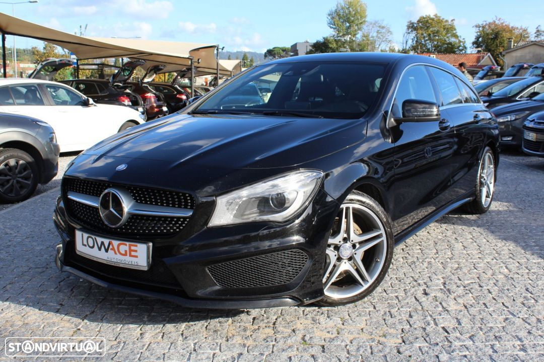 Mercedes-Benz CLA 220 CDI Shooting Break AMG Auto - 21