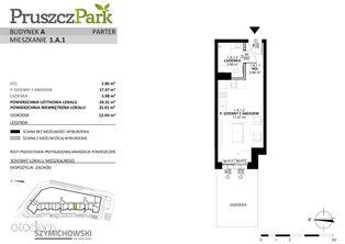 Pruszcz Park, budynek A, mieszkanie 1.A.1