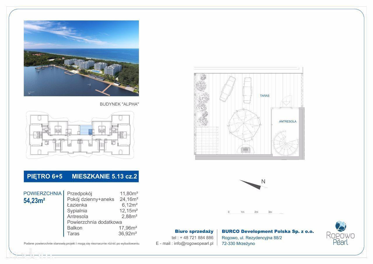 Mieszkanie na sprzedaż, Rogowo, gryficki, zachodniopomorskie - Foto 2