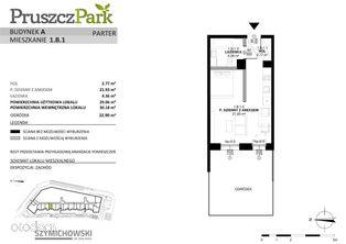 Pruszcz Park, budynek A, mieszkanie 1.B.1