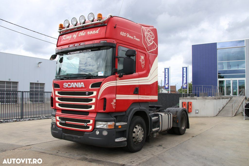 Scania R620+MANUAL+INTARDER+KIPHYDR. - 2