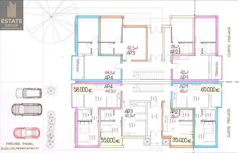 Apartament de vanzare, Timiș (judet), Zona Ghiroda Nouă - Foto 3