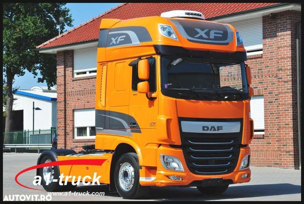 DAF XF 460 SSC, Ate EURO 6 ZF-Intarder, - 1
