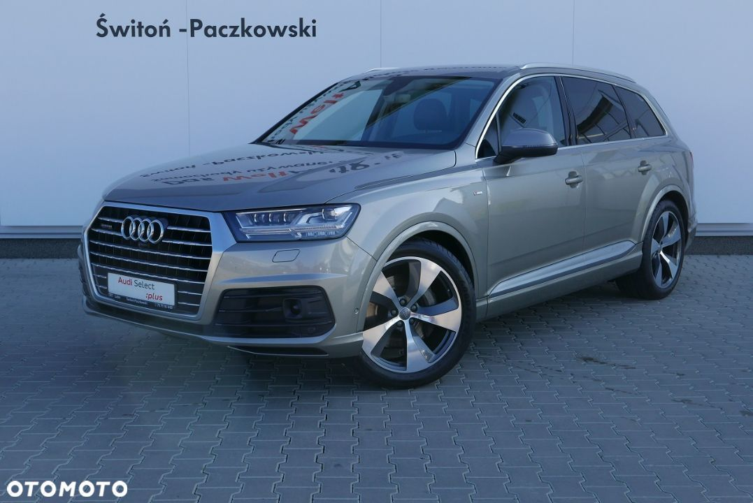 Audi Q7 3.0 TDI 272KM Head Up Matrix S Line Gwarancja Salon Polska - 3