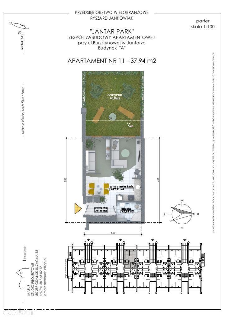 Mieszkanie na sprzedaż, Jantar, nowodworski, pomorskie - Foto 2