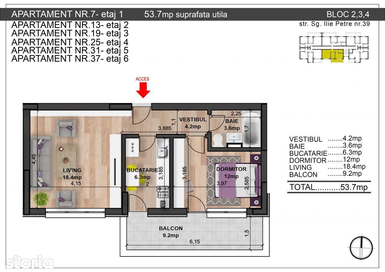 Apartament de vanzare, Bucuresti, Sectorul 6 - Foto 3