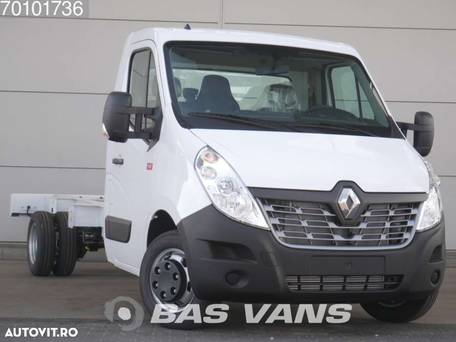Renault Master chassis cabine 165PK Dubbellucht Navigatie Airco 3... - 3