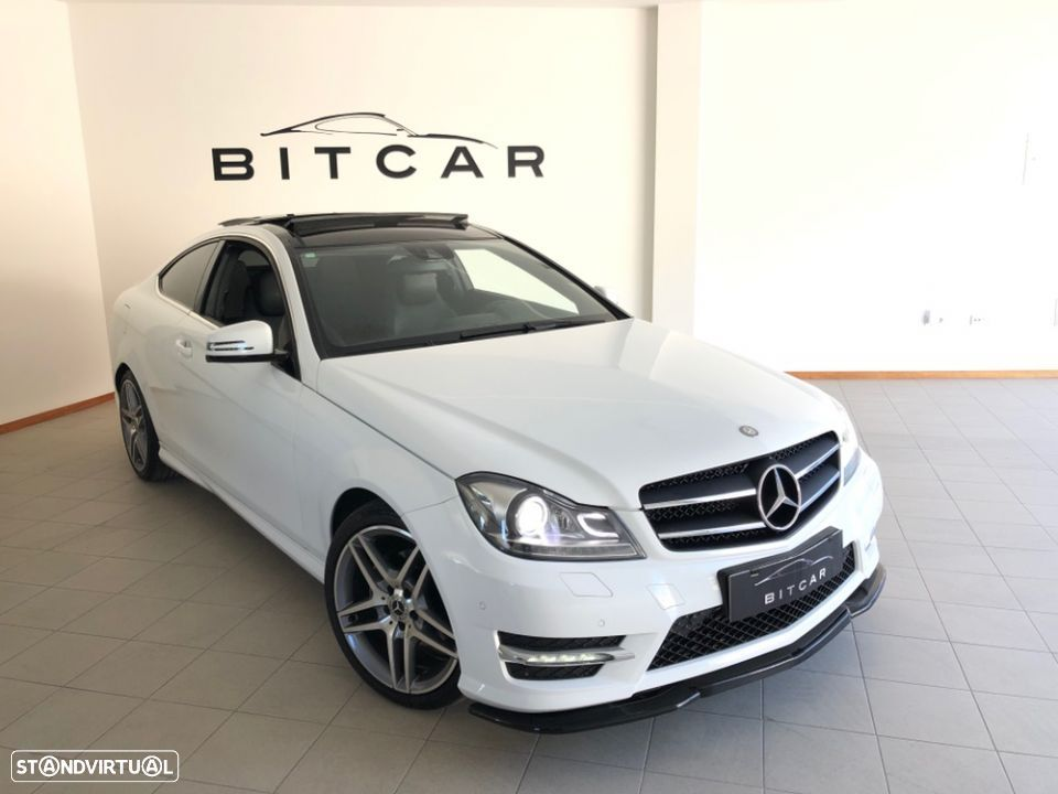 Mercedes-Benz C 220 Coupe AMG - 1