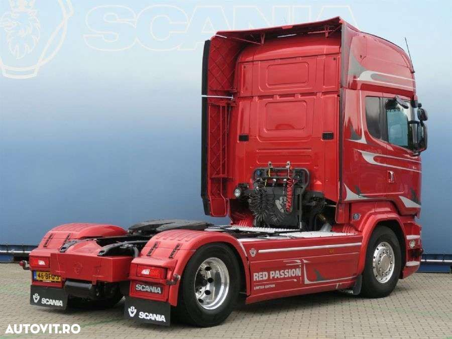 Scania R580 4x2MNB V8 Red Passion - 4
