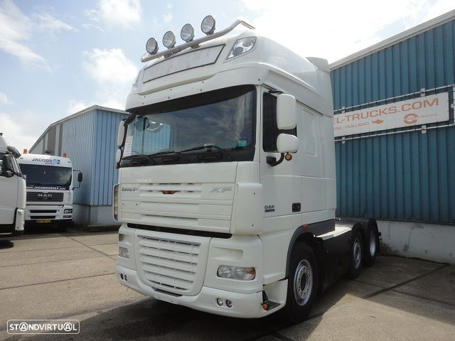 DAF FTG XF 105-510 SUPERSPACECAB 6x2 (EURO 5 / AS-TRONIC / SLIDING 5TH WHEEL) - 1