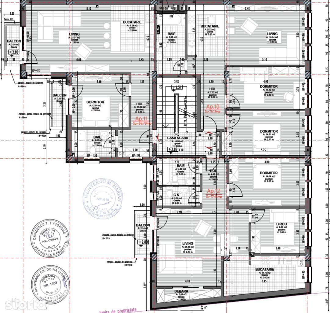Apartament de vanzare, Cluj (judet), Strada Ilie Măcelaru - Foto 4