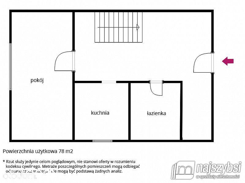 Mieszkanie na sprzedaż, Natolewice, gryficki, zachodniopomorskie - Foto 12