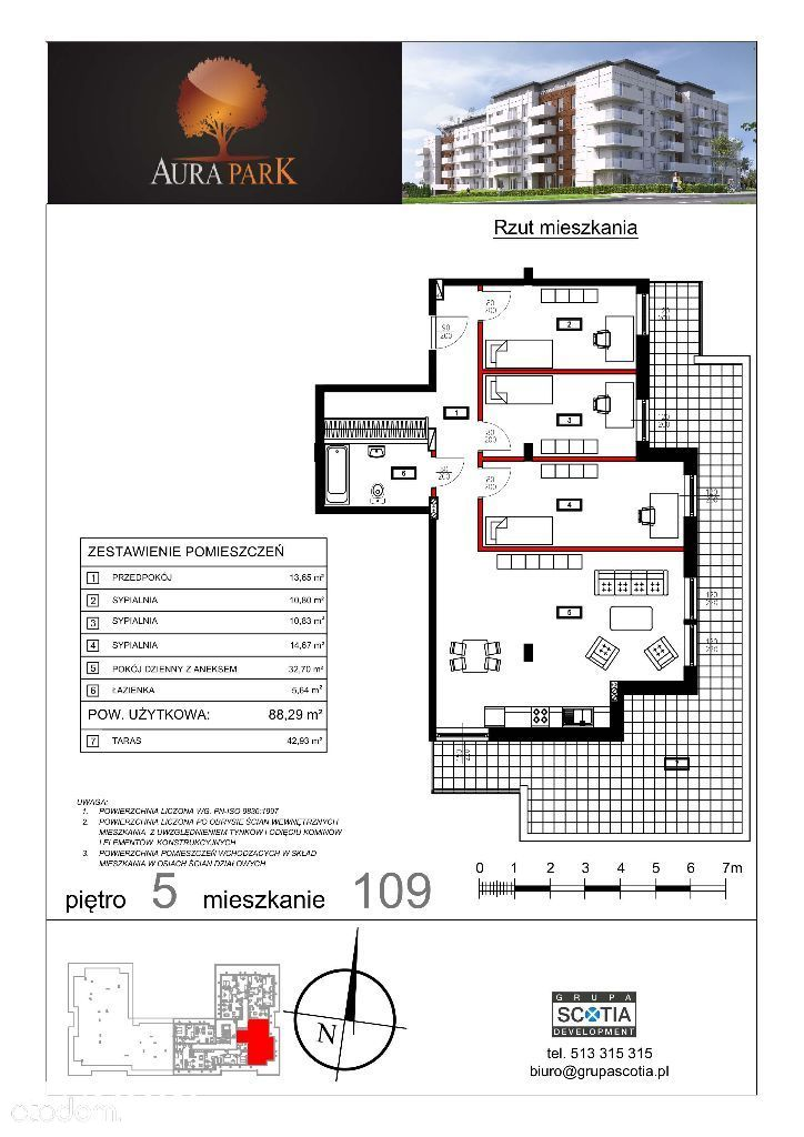 Mieszkanie na sprzedaż, Ciechanów, ciechanowski, mazowieckie - Foto 1