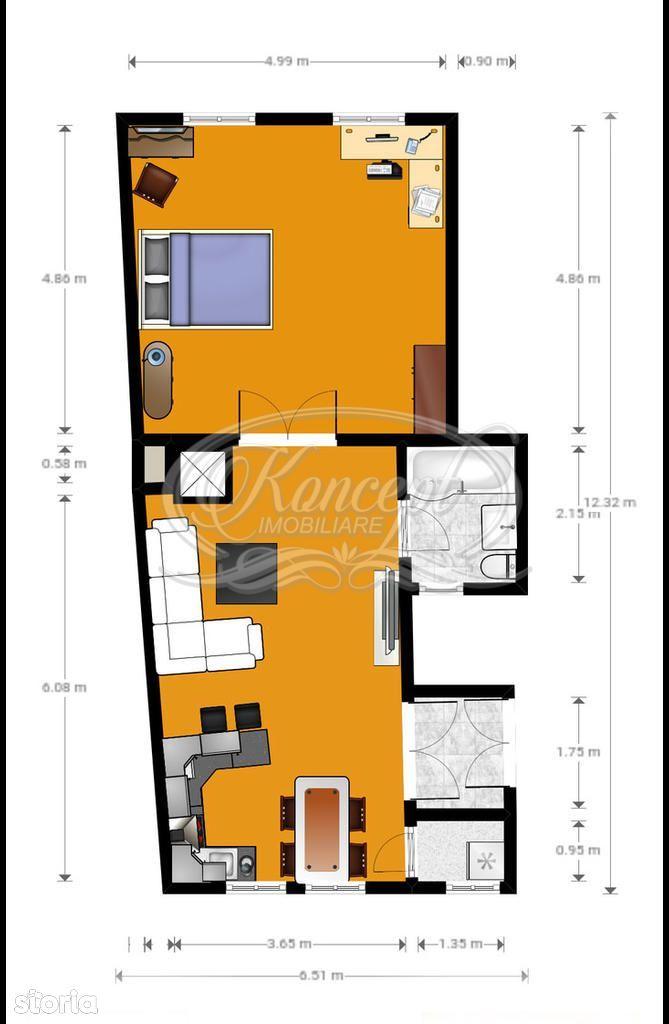 Apartament de vanzare, Cluj (judet), Strada Ploiești - Foto 17