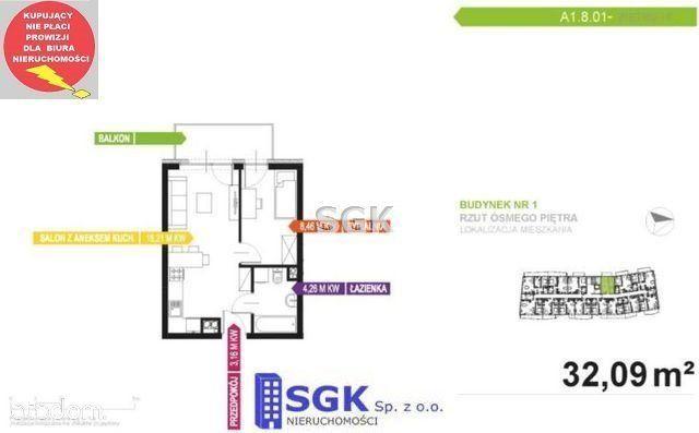 Mieszkanie na sprzedaż, Katowice, Dolina Trzech Stawów - Foto 6