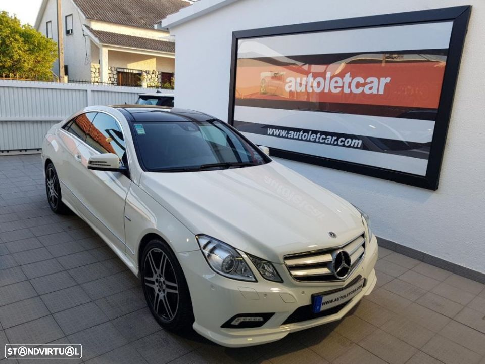 Mercedes-Benz E 250 CDI COUPE AMG EDITION - 1