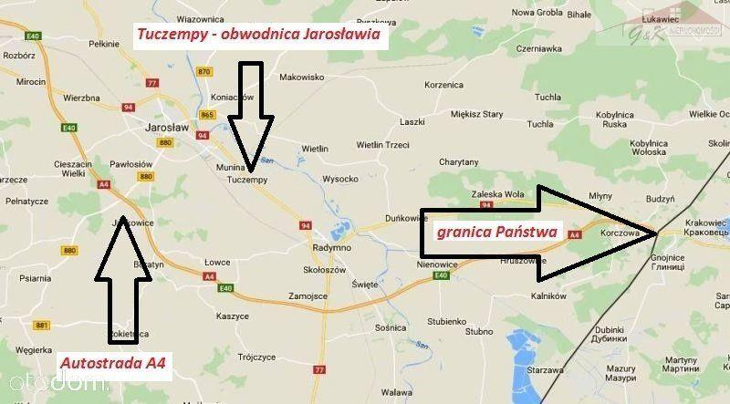 Działka na sprzedaż, Tuczempy, jarosławski, podkarpackie - Foto 5