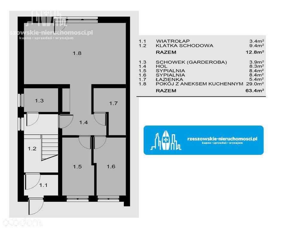 Mieszkanie na sprzedaż, Rzeszów, Budziwój - Foto 3