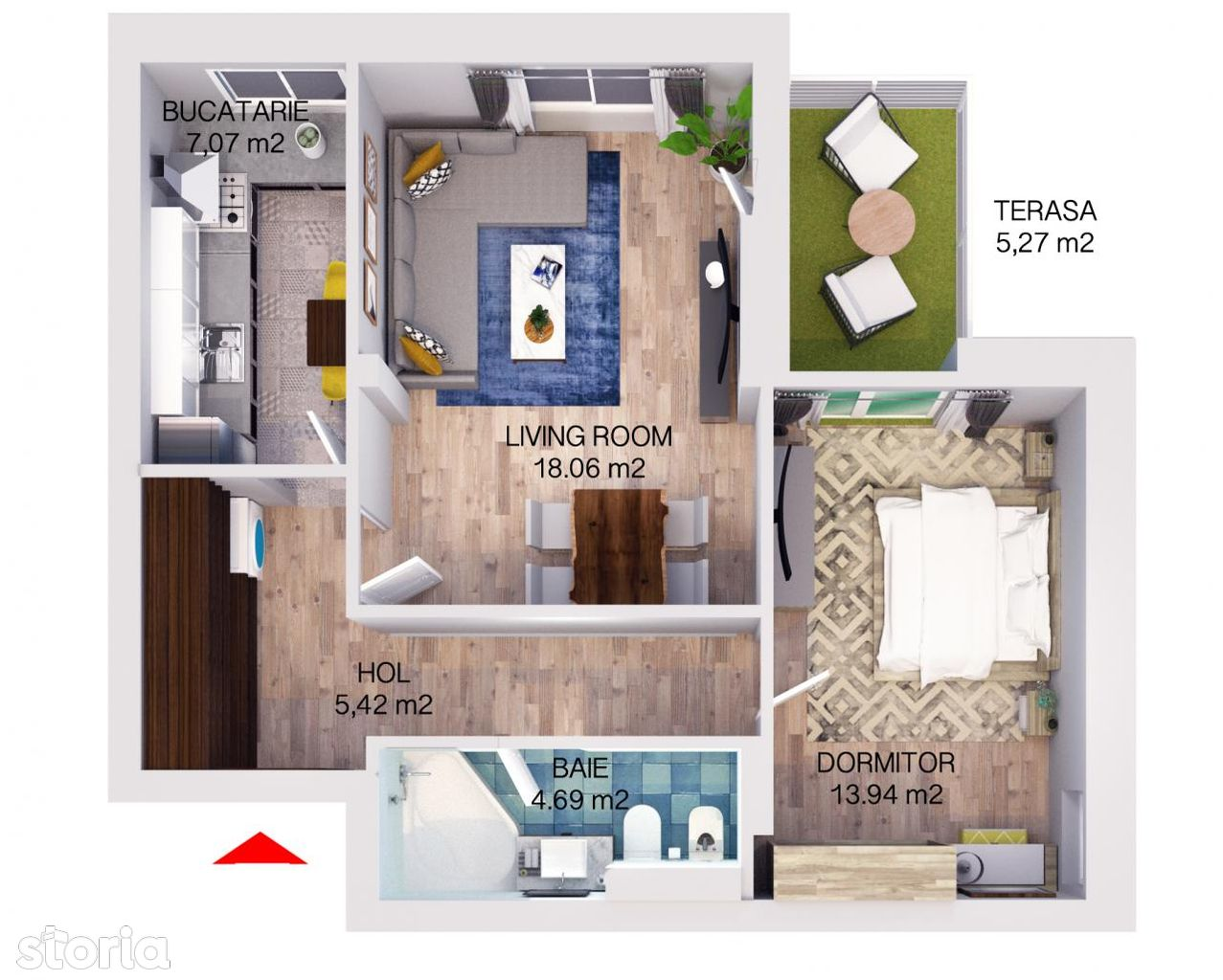 Apartament de vanzare, Brașov (judet), Strada Ioan Ursu - Foto 7