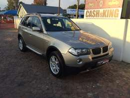 2008 Bmw X3 2.0D Auto,only 157000 kms,pamaromic sunroof
