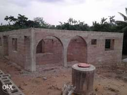 Uncompleted 3bed Room Bungalow for sale at wire&cable, Apata Ib.