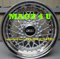 "Mags 4 u wheel & tyre experts...15""&17"" bbs narrow and wide"