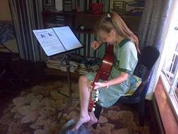 Guitar Lessons for young and old Beginners welcome