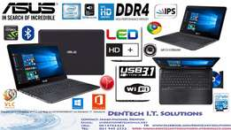 In box Asus Dual-graphics gaming laptop+ HD Audio+USB 3.1+DDR4+12 Mont