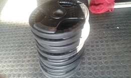 10x 10kg olympic bar weights for R3000-brand new