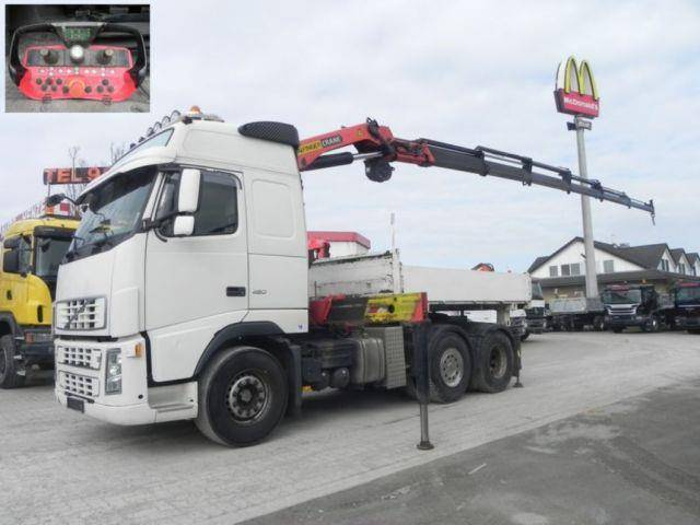 Volvo FH FH 480 Wechselfahrgestell 27m/t+Funk - 2007